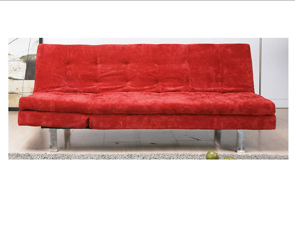 Peachy Magnum Klik Klak Convertible Sofa Bed Red Download Free Architecture Designs Viewormadebymaigaardcom