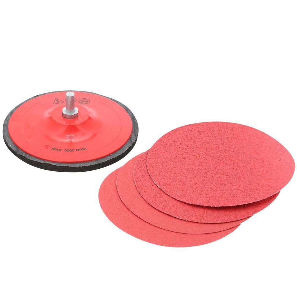 StickFast 5-inch Drill Mount Sanding Disc Kit