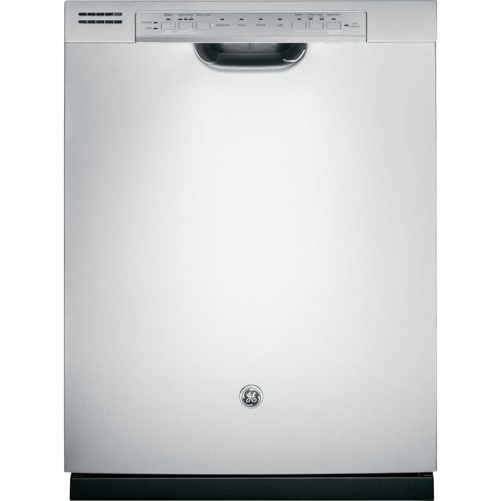 Ge 24 inch built in tall tub dishwasher with front for 24 inch built in microwave stainless steel