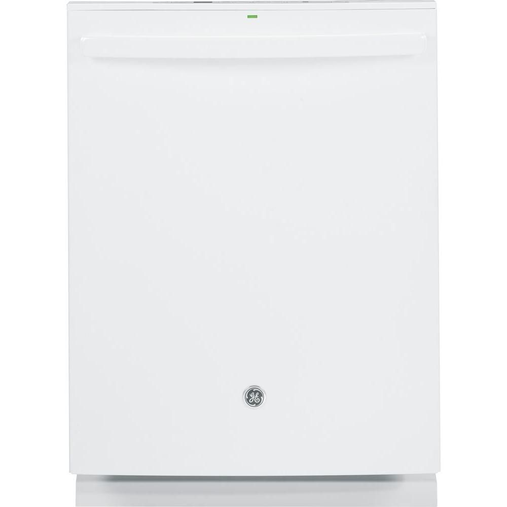 24-inch Built-in Tall Tub Dishwasher with Hidden Controls in White