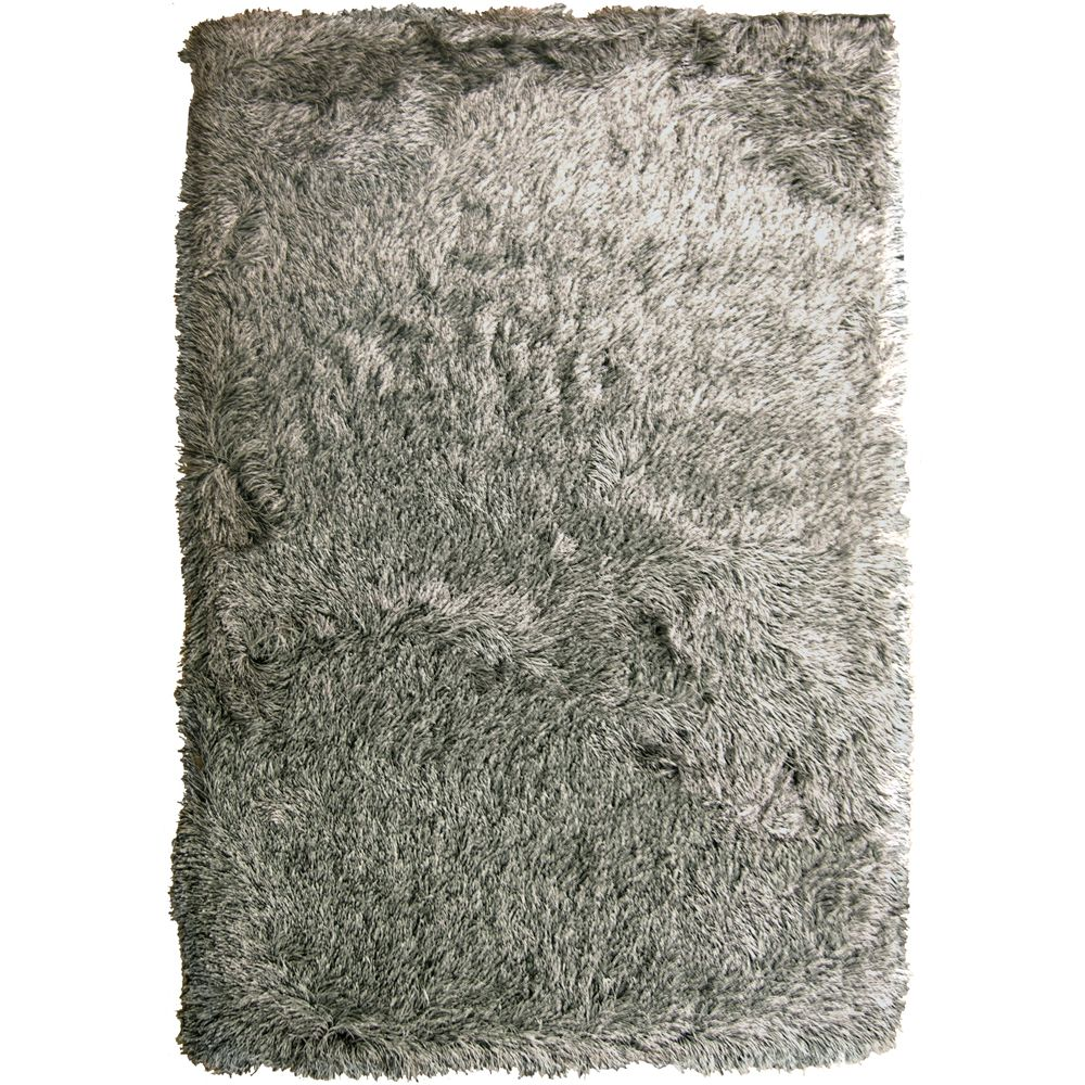 Steel Rebel Shag 8 Ft. x 10 Ft. Area Rug