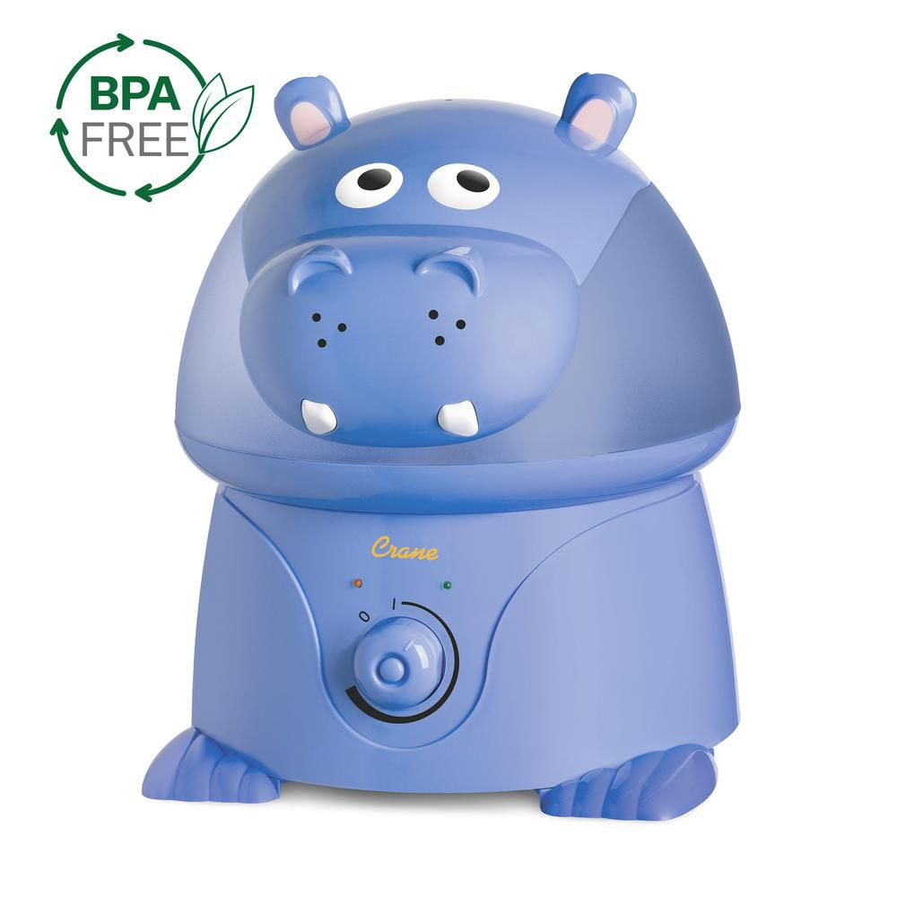 Ultrasonic Cool Mist Humidifier, Hippo