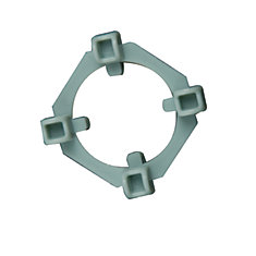 Clear View 2-In-1 Tile Spacers, 1/8 And 1/4 Inch., 100 Spacer And 50 Wing Pack