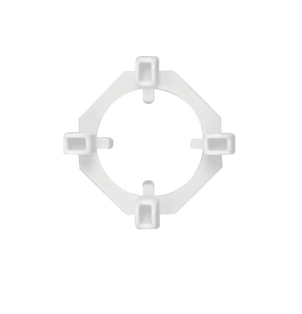Clear View 2-In-1 Tile Spacers, 1/16 And 3/16 Inch., 100 Spacer And 50 Wing Pack
