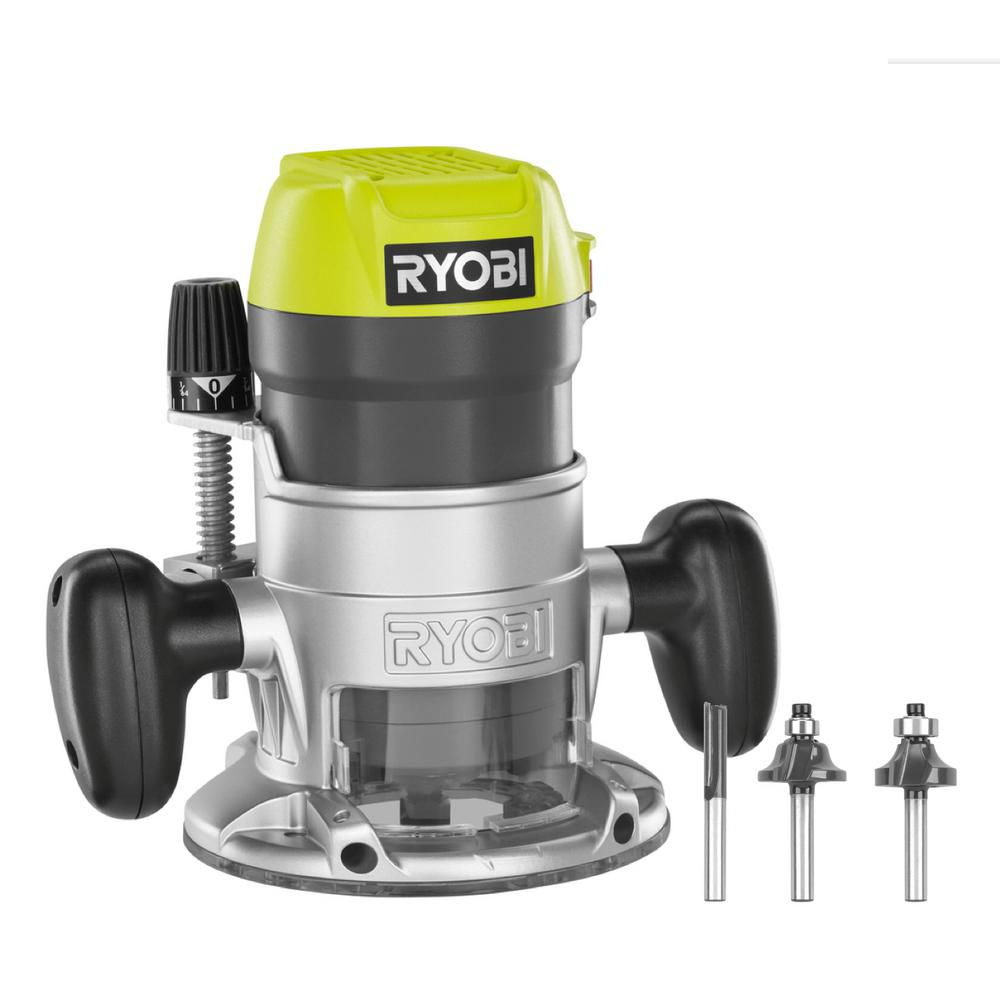 RYOBI 1-1/2 Peak HP Router Kit | The Home Depot Canada