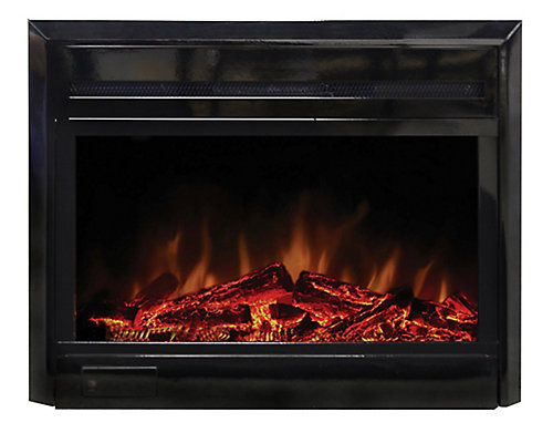 inserts wood electric gas depot home log fireplaces canada fireplace heater burning vented freestanding logs insert