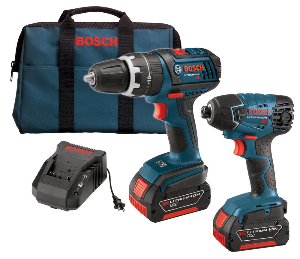 18V Lithium Ion 2-Piece Combo Kit