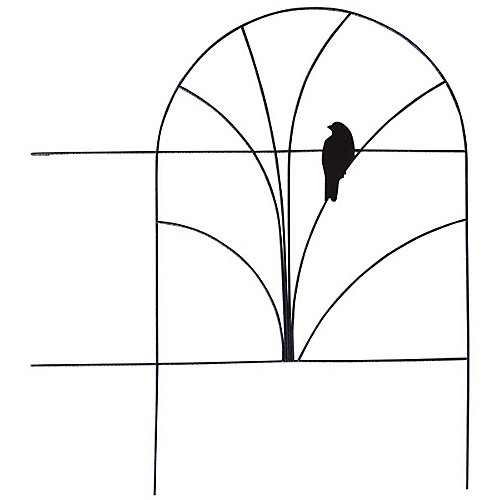 Wire Folding Fence -Bird Design
