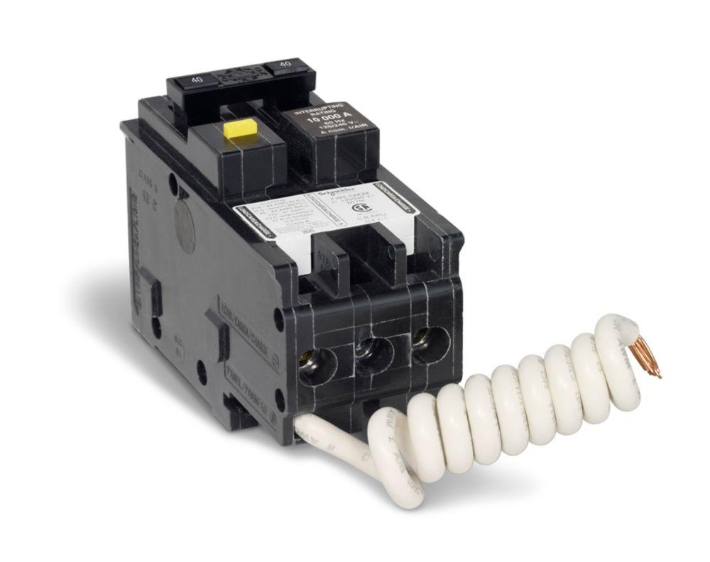 Schneider Electric Double Pole 30 Amp Stab-lok Plug-On Circuit Breaker NC