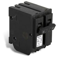 Schneider Electric - HomeLine Disjoncteur enfichable Homeline de 60A bipolaire
