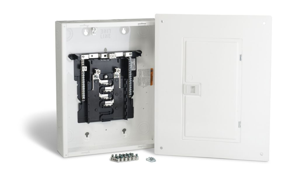125 Amp Sub Panel Loadcentre with 8 Spaces, 16 Circuits Maximum