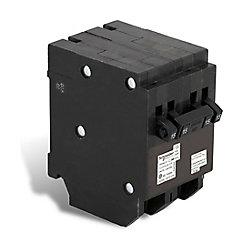 Schneider Electric - HomeLine Disjoncteur Quad Type Homeline (2 1-pôle-15A &1 à 2 pôles 15A)