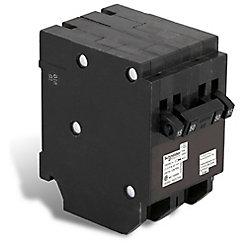 Schneider Electric - HomeLine Disjoncteur Quad Type Homeline (2 1-pôle-15A &1 à 2 pôles 50A)
