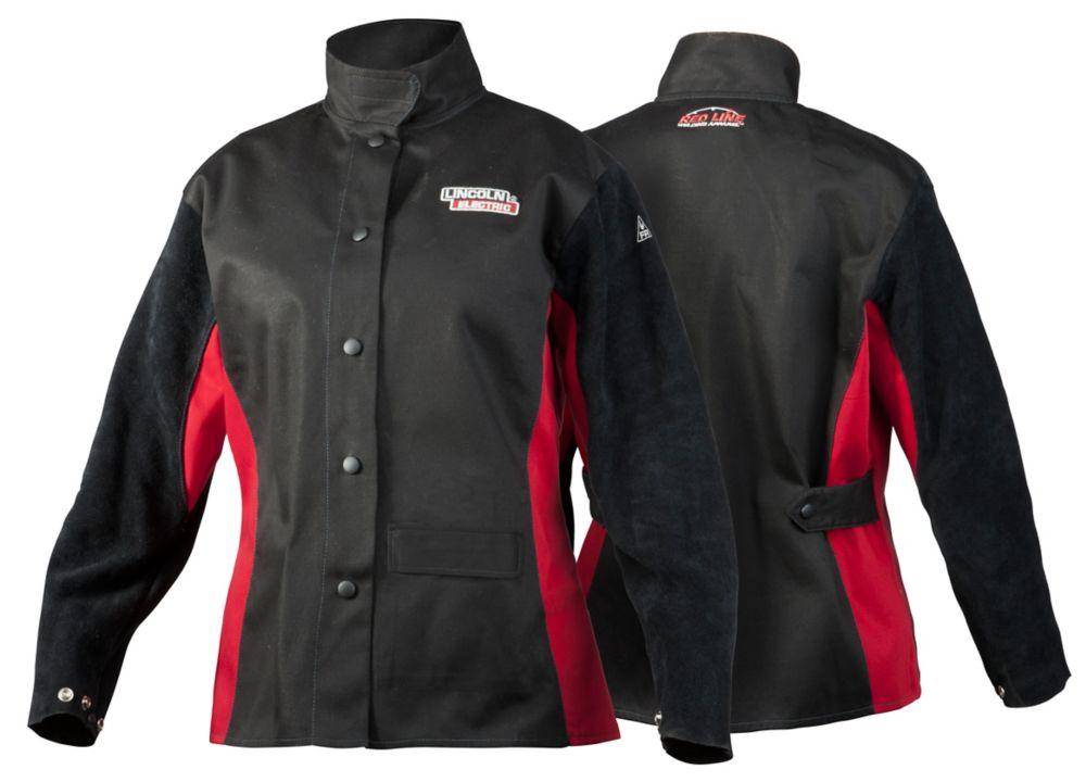 jessi combs women's shadow fr welding jacket l