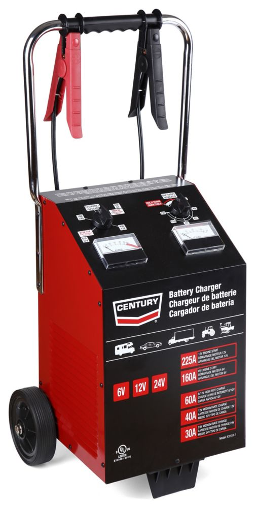 225A Century Battery Charger 60/40/30/225.