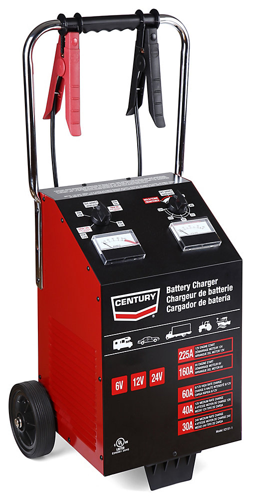 chargeur century<sup>®</sup> 225a  60/40/30/225