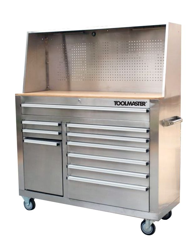 Toolmaster 56 inch Stainless Steel Tool Chest | The Home Depot Canada