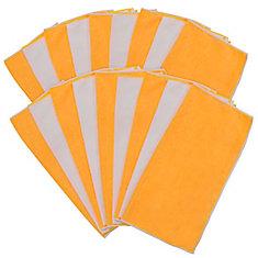 Paquet de 18 grandes serviettes en microfibre