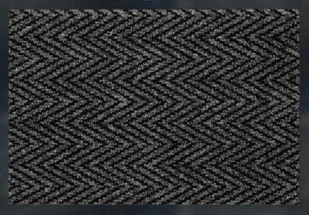 Herrington Grey 3 ft. x 4 ft.  Indoor Rectangular Door Mat