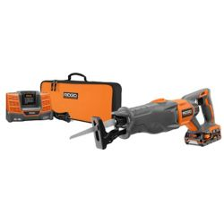 RIDGID 18V Reciprocating Saw Kit