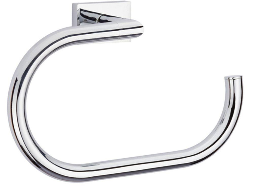 SQUARETONE Towel Ring Open Ring Style, BN