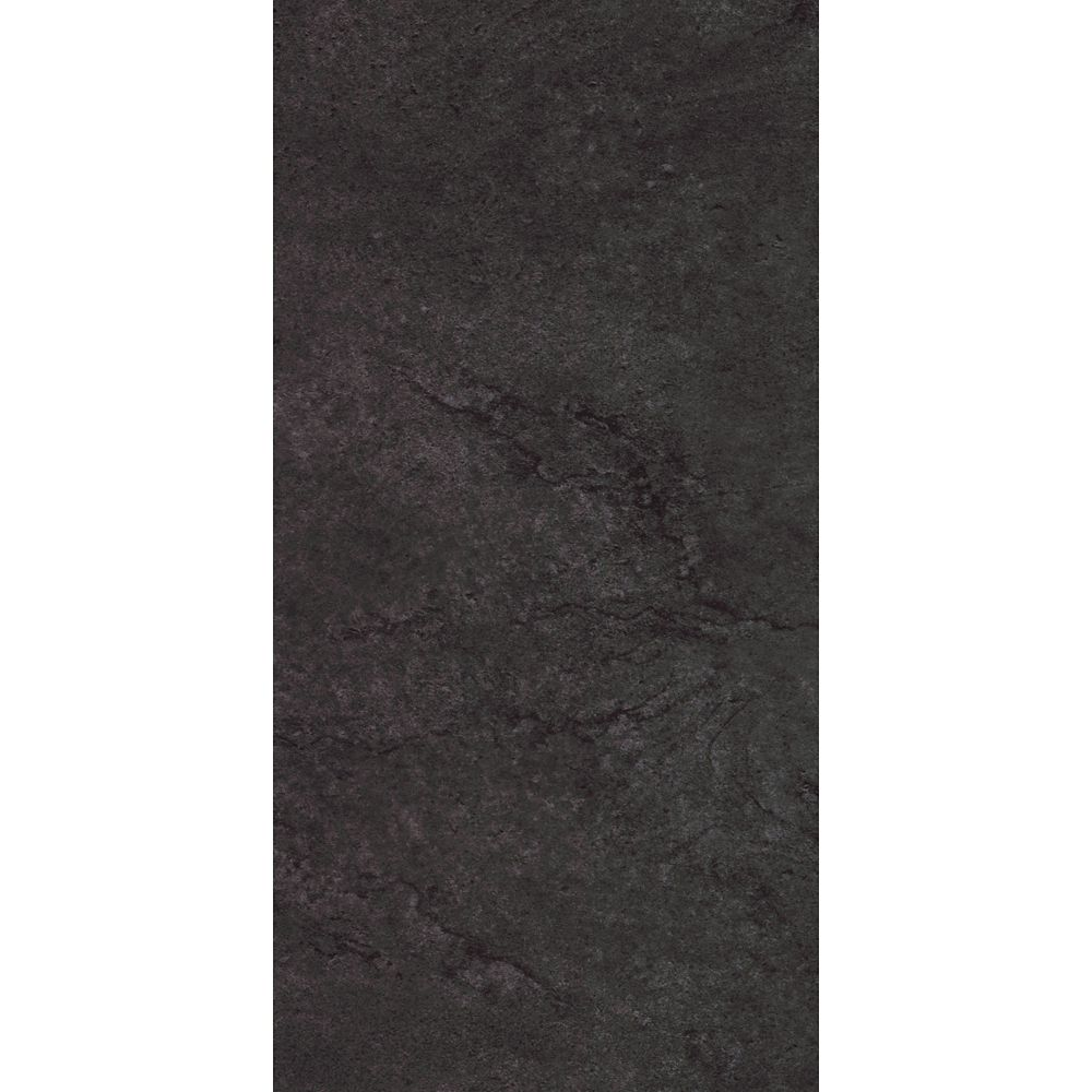 Allure Ultra UniFit Delft Stone Black 12 Inch x 24 Inch Resilient Tile Flooring (20 Sq.Ft./Case)