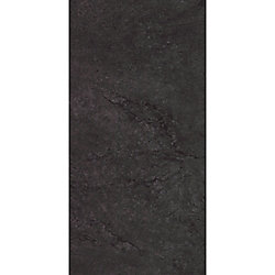 Locking 12-inch x 23.82-inch Delft Stone Black Luxury Vinyl Tile Flooring (19.8 sq. ft./Case)