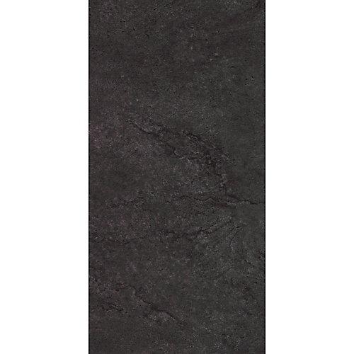 Locking 12-inch x 23.82-inch Delft Stone Black Luxury Vinyl Tile Flooring (19.8 sq. ft./Case)