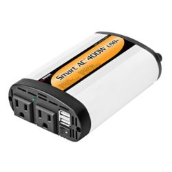 Wagan Tech Slim Line 400W/1000W Inverter 5V2.1A USB