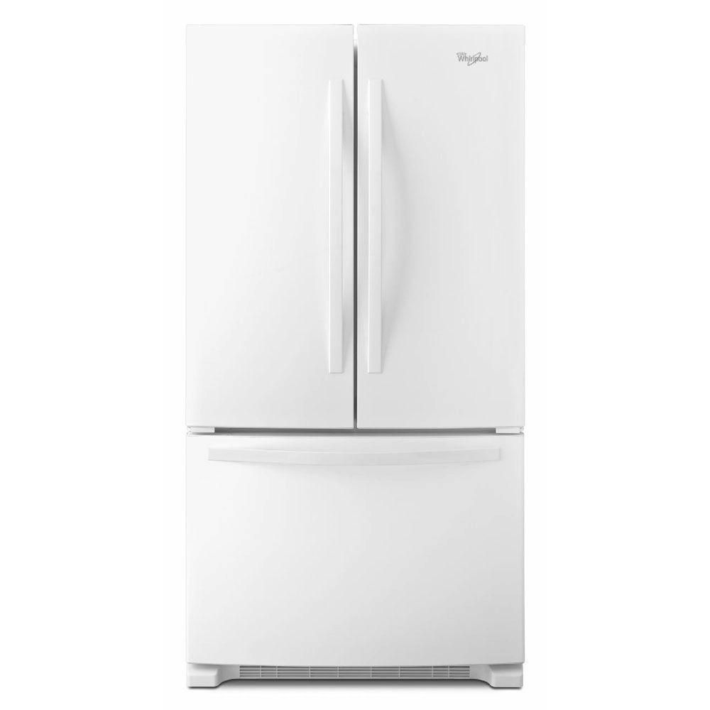 22.1 cu. ft. French Door Refrigerator with Accu-Chill System in White