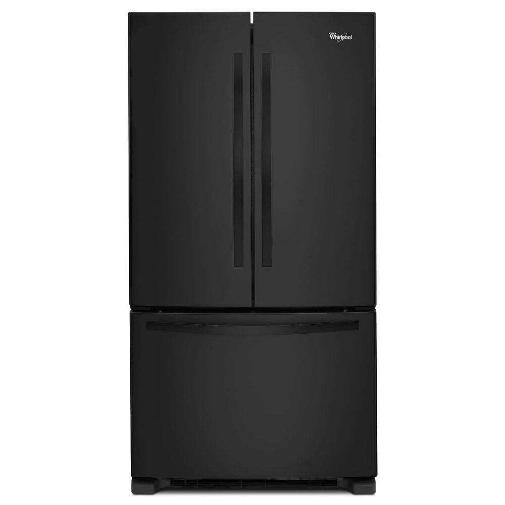 Réfrigérateur à portes françaises 22 pi cu - WRF532SNBB