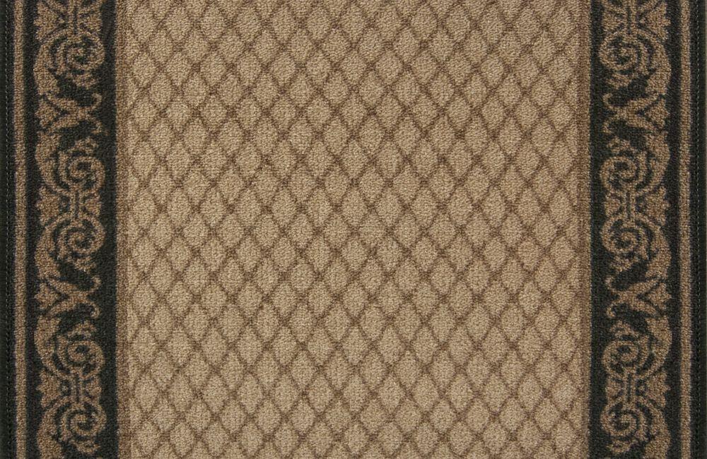 Hamilton Ebony Carpet Runner 26 in x Custom Length (Price per linear foot)