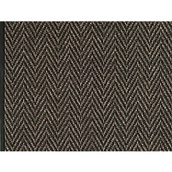 Multy Home Tapis de passage d'intérieur, 2 pi 2 po x 1 pi, style contemporain, brun Herrington