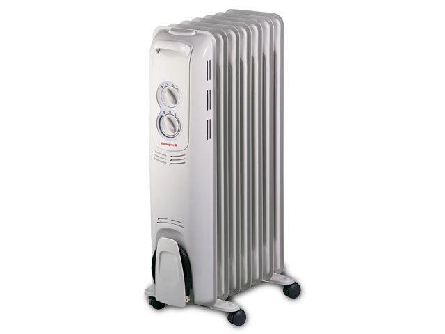 Honeywell 7 Fin Oil-Filled Radiator Heater