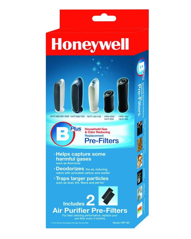 Filtre de rechange anti-odeurs Honeywell de qualité supérieure