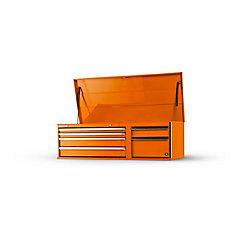 56-inch 6-Drawer Top Chest in Orange
