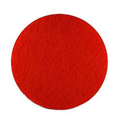 Diablo Tampon de polissage 12po x 18po rouge