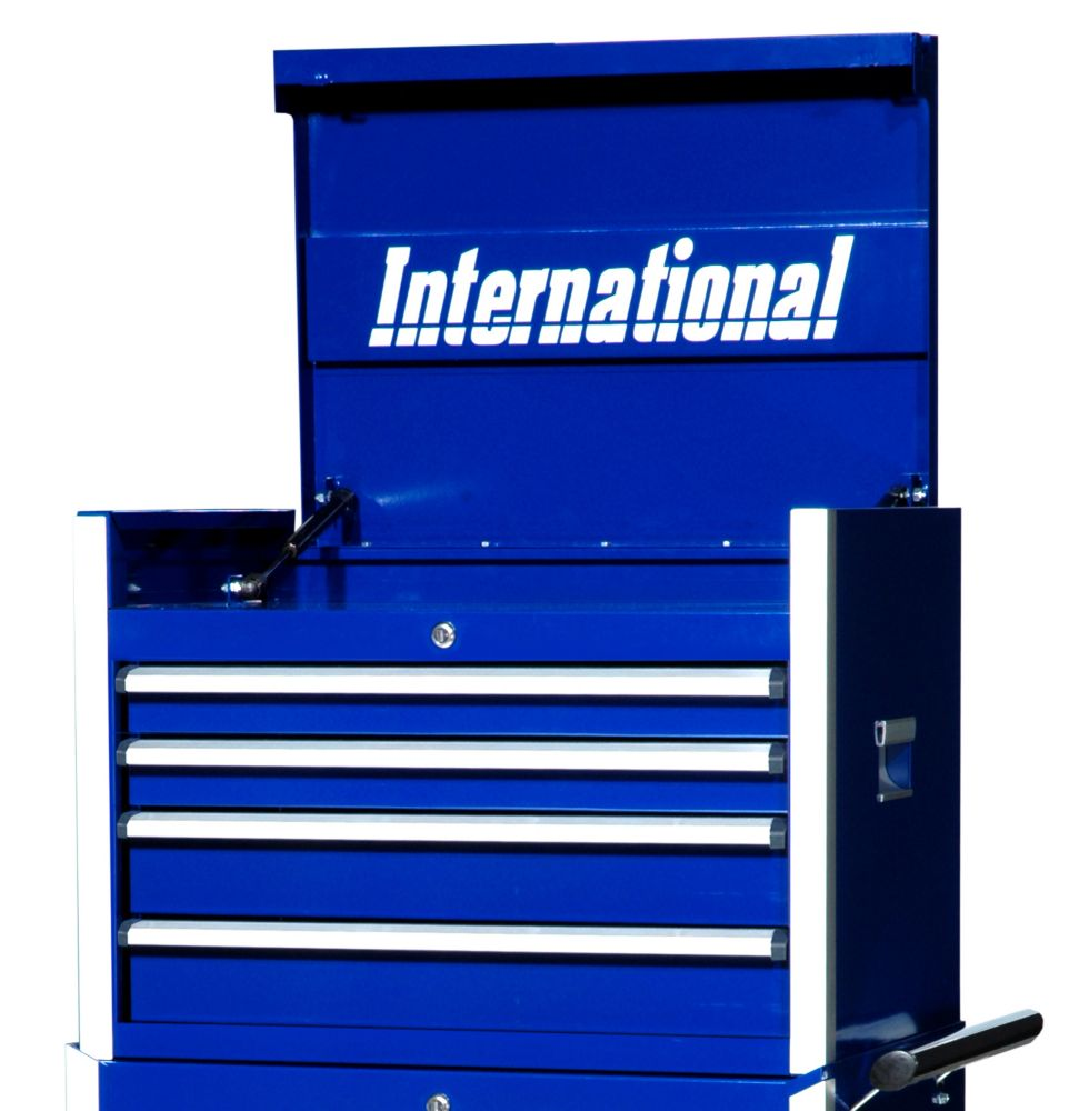 27 Inch Professional Series 4 Drawer Tool Chest, Blue