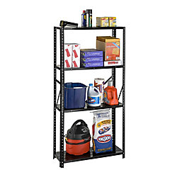 International 4 Shelf All Steel 4 Shelf Bolted Storage Rack
