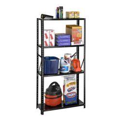 International 4 Shelf All Steel 4 Shelf Bolted Storage Rack