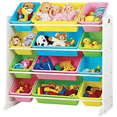 Toy organizer Pastel