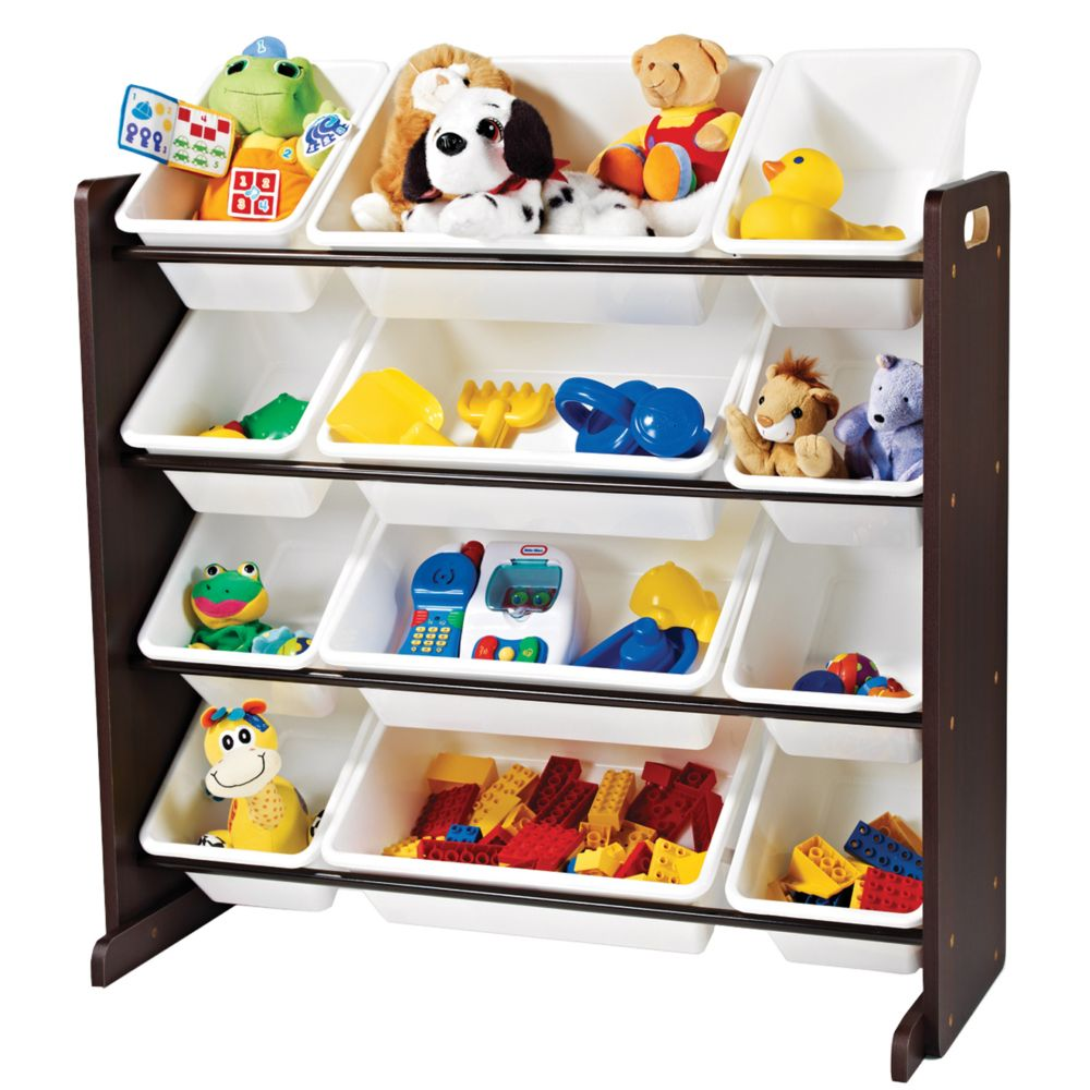 Toy Organizer Espresso