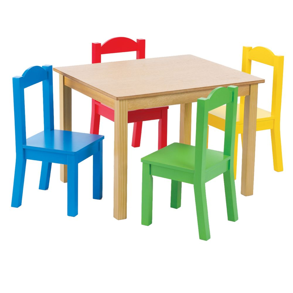 Table & 4 Chairs Primary
