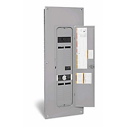 Square D 200 Amp Combination Generator Panel with 36 Circuits Backup and 80 Circuits Total