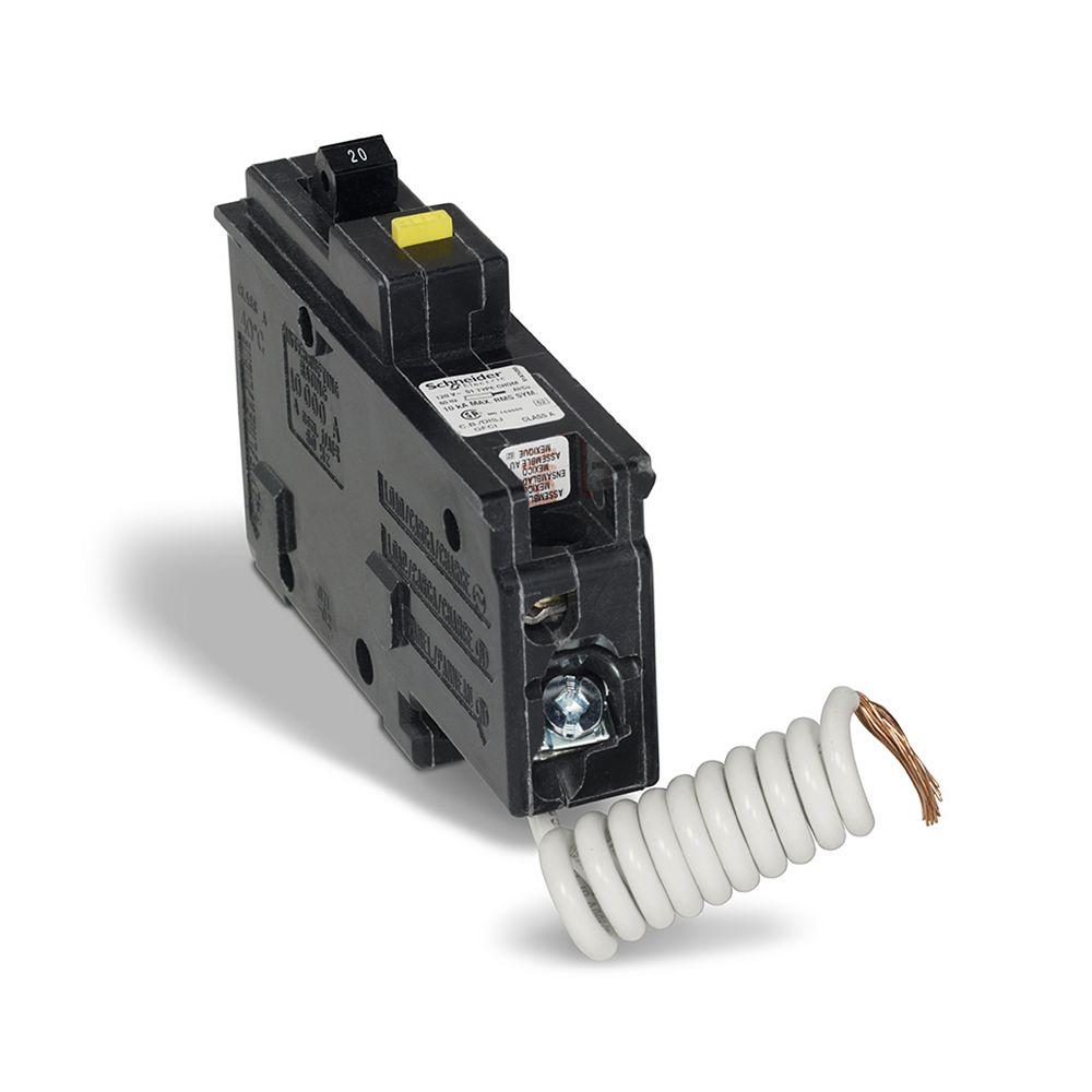 HomeLine Single Pole 20 Amp HomeLine GFI Plug-On Circuit ...