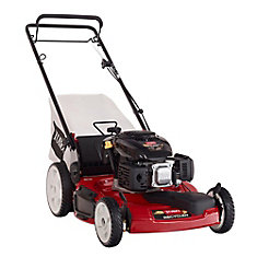 Recycler 22-inch Briggs & Stratton Gas Self-Propelled Lawn Mower with High Wheels