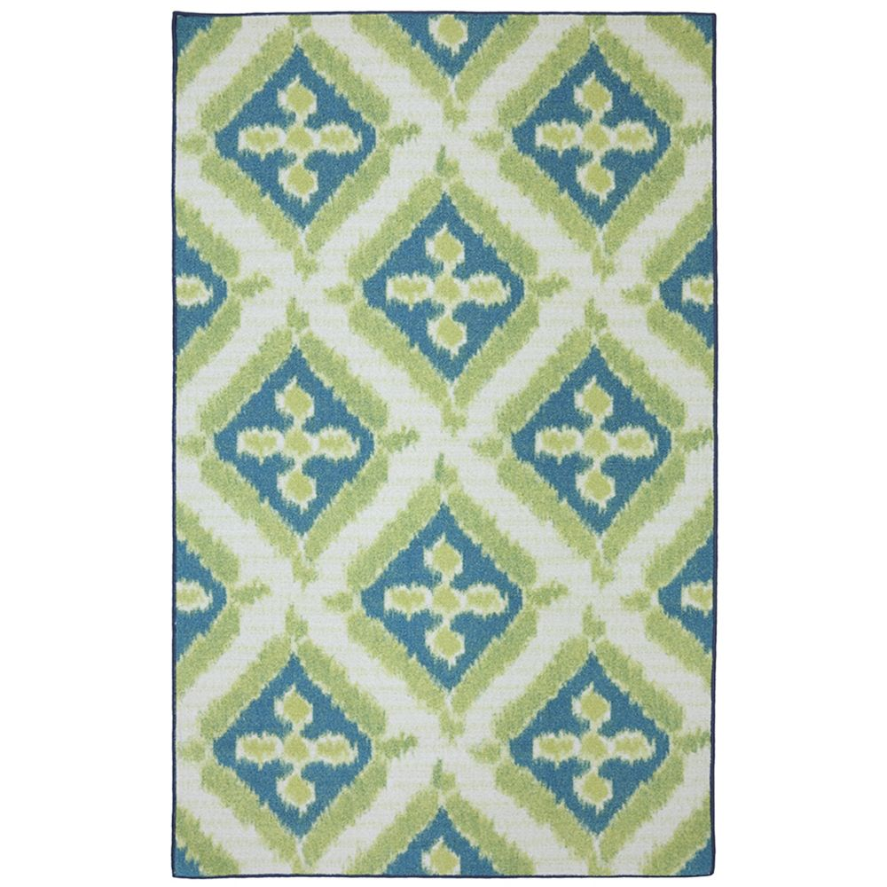 5 ft. x 8 ft. Summer Splash Outdoor Printed Patio Area Rug