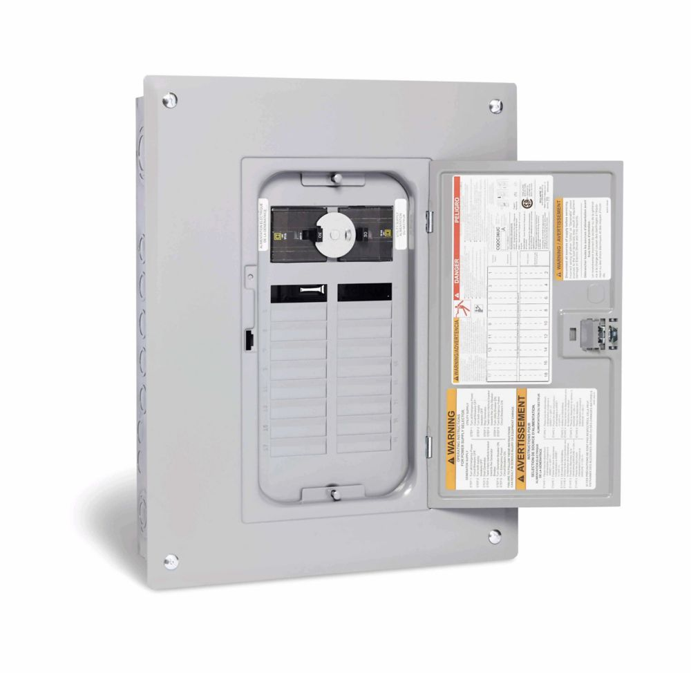 Square D 200 Amp 40 Spaces 80 Circuits Maximum Qwikpak Panel Home Depot Fuse Box Questions And Answers