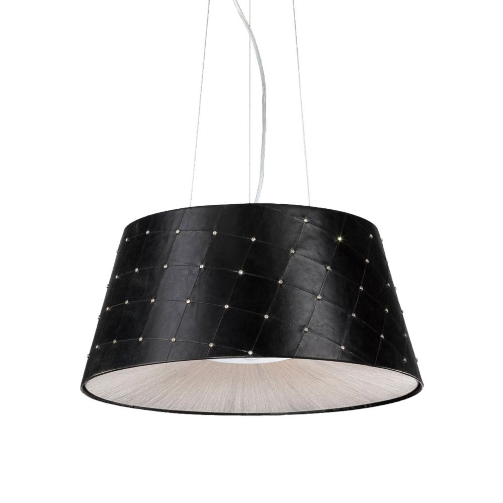 Eurofase Sasso Collection 2 Light Black Pendant