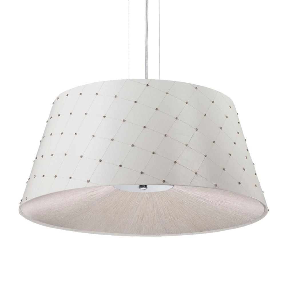 Sasso Collection 3 Light White Pendant